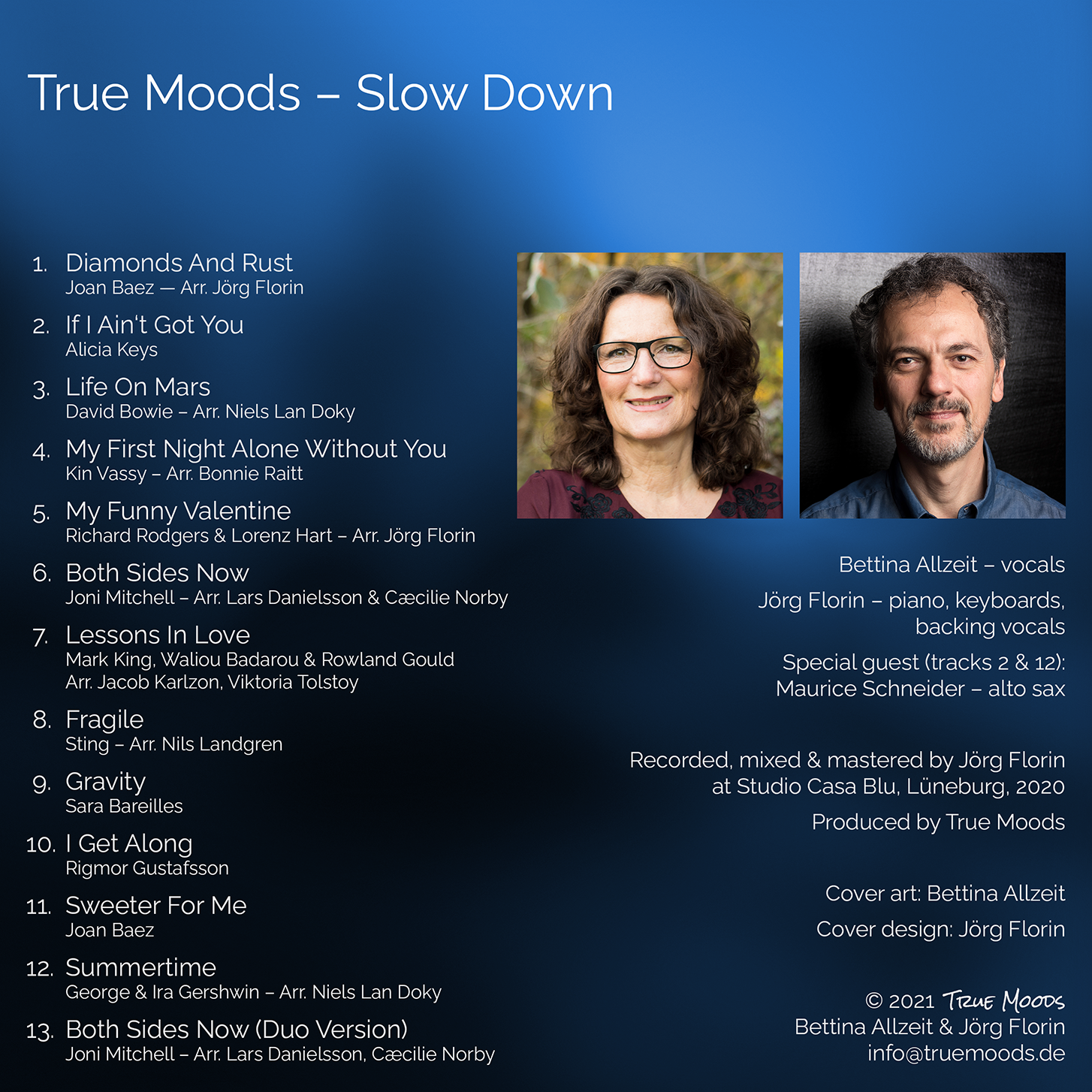 Slow Down - Back Cover